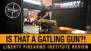 EPIC Guns in a LUXURY Range Experience -  Liberty Firearms Institute Review