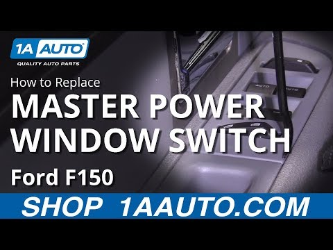 How to Replace Front Window Switches 09-14 Ford F150
