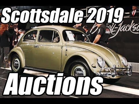 Classic VW BuGs Kickoff To The 2019 Classic Car Auctions In Scottsdale AZ
