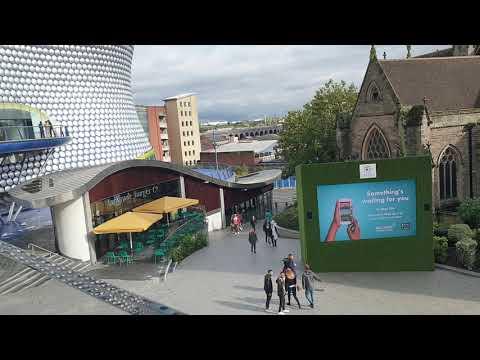 Birmingham City Tour | Birmingham City Center | UK (2019)