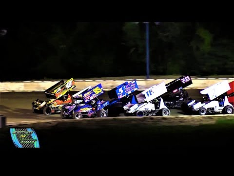 8-3-18 Great Lakes Super Sprints A-Main Hartford Speedway