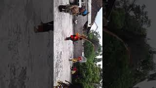 Reog broo..kesenian khas indonesia..lagi diundang hajatan di tompe,dempet, demak