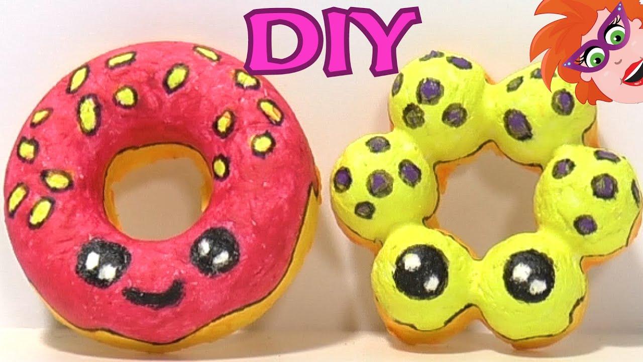 Papier mache kawaii donuts knutselen heel leuk en schattig om te maken youtube - Ruimte van het meisje verf idee ...