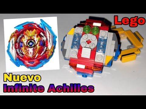 Nuevo Infinite Achilles de beyblade burst Sparking lego #Beyblade_Burst_Lego