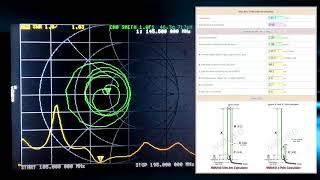 NanoVna, настройка антенны Slim Jim на 145.500
