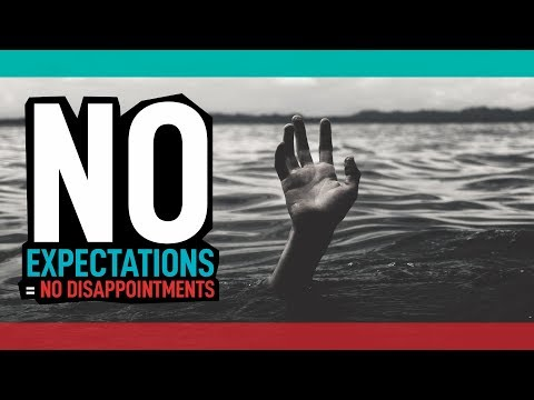 No Expectations = No Disappointments // Jewel Drop of the Day #17