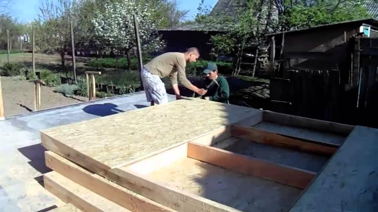 case de lemn_construirea unui perete din panou de lemn