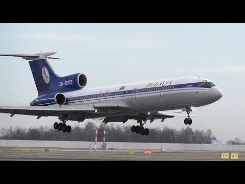 TUPOLEV TU-154M Belavia