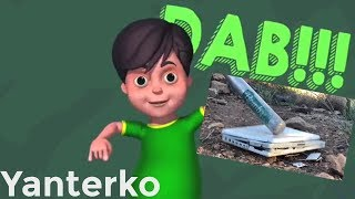 """Nick India's Dab but every time they say """"dab"""" Plainrock124 smashes something"""