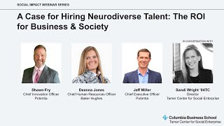 A Case for Hiring Neurodiverse Talent: The ROI for Business & Society