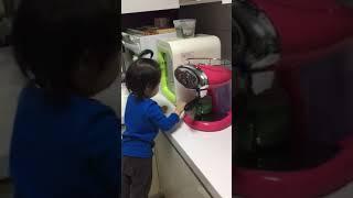 해나 20180321 일리 커피머신