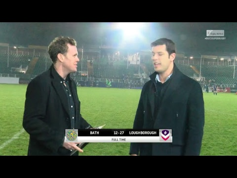 LIVE BUCS SUPER RUGBY: Bath v Loughborough 18OCT17