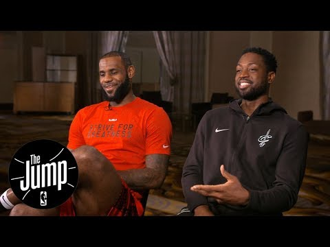 LeBron James and Dwyane Wade exclusive  with Rachel Nichols  The Jump  ESPN