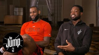 LeBron James and Dwyane Wade exclusive interview with Rachel Nichols   The Jump   ESPN by : ESPN