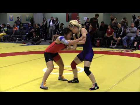 2014 Wesmen Open: 51 kg Kiaya Bergson vs. Vivian Mark