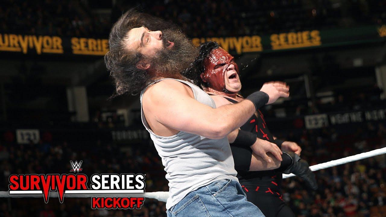 Image result for Kane vs. Luke Harper – Survivor Series Kickoff