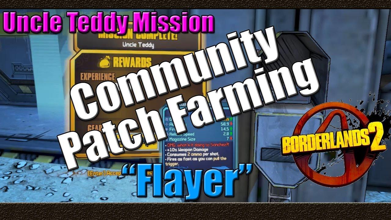Borderlands 2 | Farming Uncle Teddy Mission For The Tidal ... Borderlands 2 Community Patch