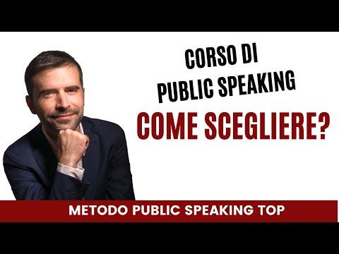 Immagine per Video 3 - Le differenze tra il Corso Public Speaking Top e gli altri corsi per parlare in pubblico