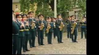 Wunsdorf-Вюнсдорф: немцы провожают наши войска. 1994 год.