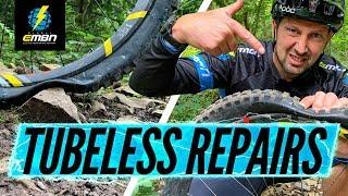 Fix Any Flat | E-Bike Tubeless Tyre Repair