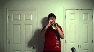 Locked Out of Heaven Trumpet Cover