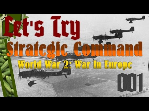 Let's Try: Strategic Command WW2: War In Europe, 001: Poland Invaded!