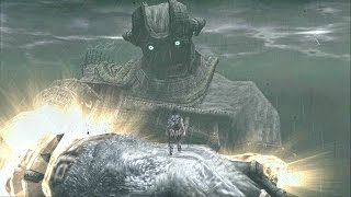 Shadow of the Colossus Malus Boss Fight - 16th Colossus on PS3 - Final Boss
