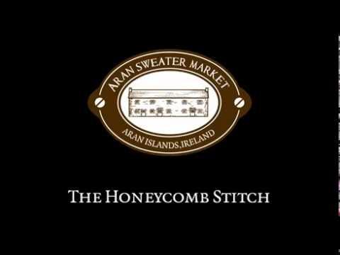 The Honeycomb Stitch From Aran Sweater Market Aran Islands
