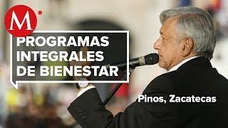 AMLO presenta Programas de Bienestar en Pinos, Zacatecas thumbnail