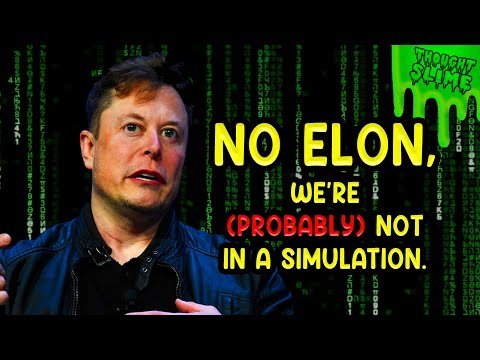 Elon Musk is wrong about simulation theory, how uncharacteristic of him.