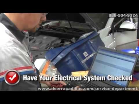 Cadillac Electrical System Wiring Repair Service Grand Blanc Flint Michigan Al Serra Auto Plaza