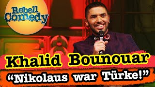 Khalid Bounouar – Türkischer Nikolaus & Essen ablecken