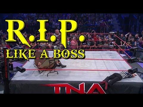 The Worst Fake Punch Reaction EVER | TNA Sacrifice 2014
