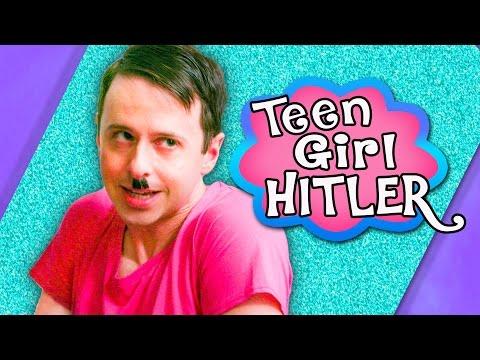 Ways Hitler Was Like a Teenage Girl