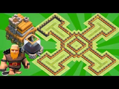 [Anti Dark]Th7 farming Base 2017 Anti Giant Anti Loot Anti Everything Anti Dragon Anti Hog