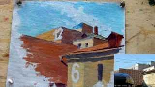 Немного о городском пленэре - Обучение живописи. Масло. Введение, 18 серия