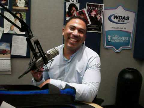 Frankie Darcell - Frankie Welcomes A New Face To WDAS-FM