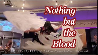 Worship Moment Dance with Silk Flags // Nothing but the Blood // ft: Claire CALLED TO FLAG