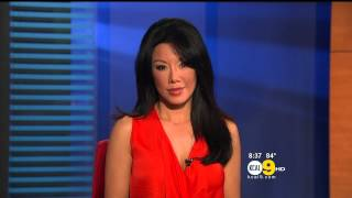 Sharon Tay 2012/09/14 KCAL9 HD