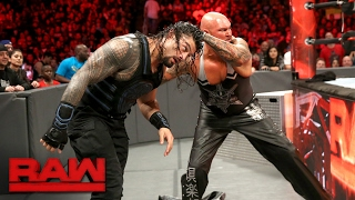 Roman Reigns vs. Luke Gallows & Karl Anderson - 2-on-1 Handicap Match: Raw, Feb. 20, 2017