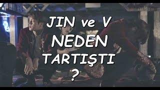 ( TÜRKÇE ) V ile Jin Neden Tartıştı ? Part1 BTS Burn The Stage 4. Bölüm  Ep.4 Why V and Jin fight?