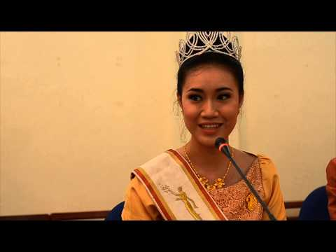 Miss Laos aims to improve dental health
