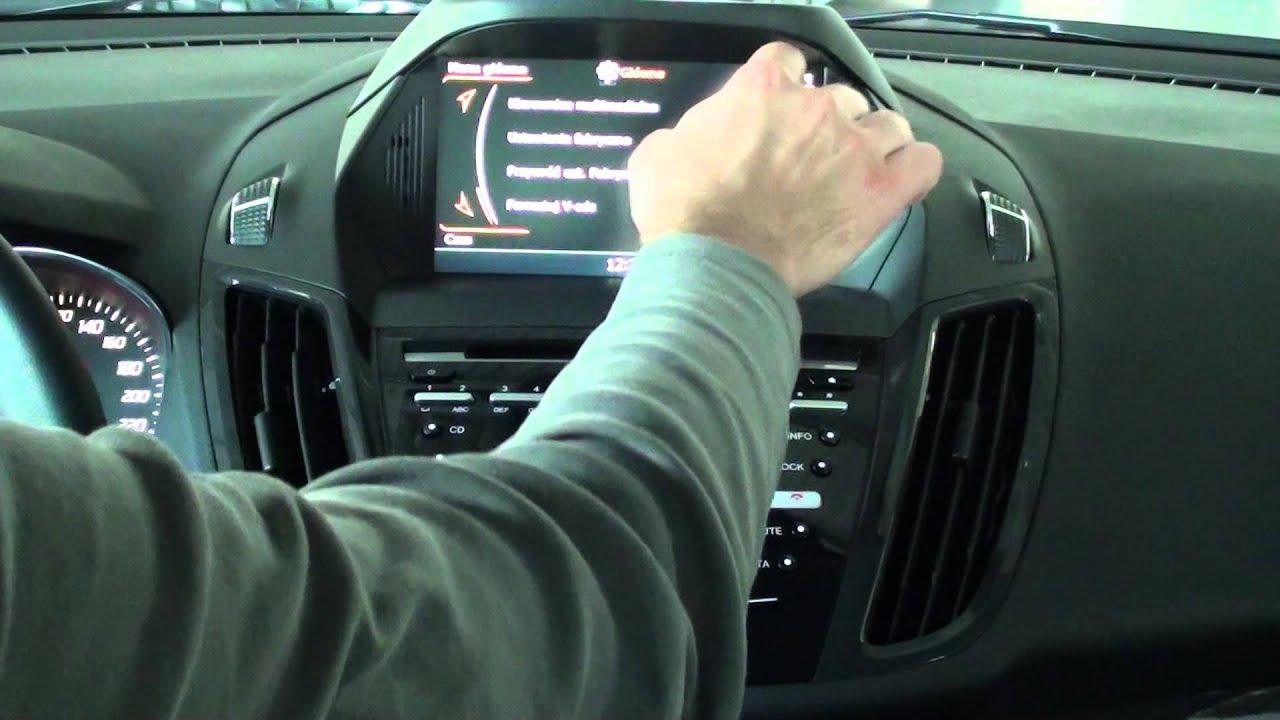 nawigacja samochodowa ford kuga 2014 c max 2014 tylko od youtube. Black Bedroom Furniture Sets. Home Design Ideas