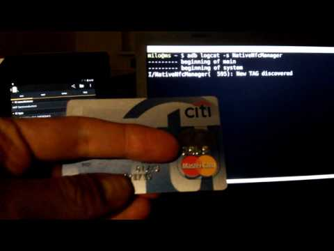 NFC payment cards filtering