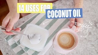 14 Weird Ways to Use Coconut Oil