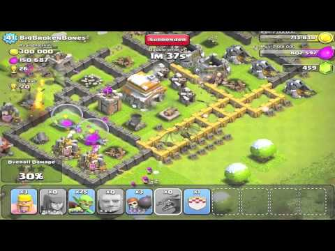 FIRST ATTACK WITH DRAGONS + 300k GOLD + 200k RAID | Clash of Clans