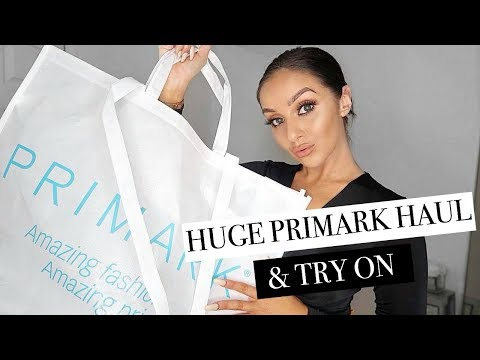 HUGE PRIMARK TRY ON HAUL OCTOBER 2018 // Autumn Winter Styling