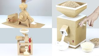 TOP 3 Amazing Grain Mill at Home from Cardboard