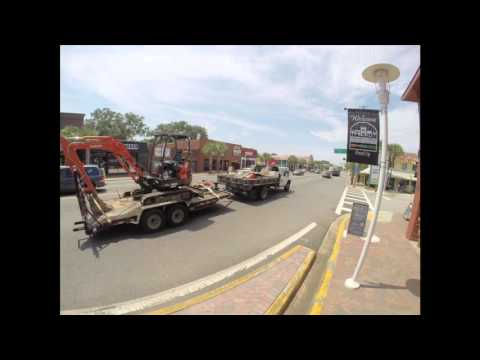 TIME LAPSE: The lunch rush in downtown Fort Walton Beach