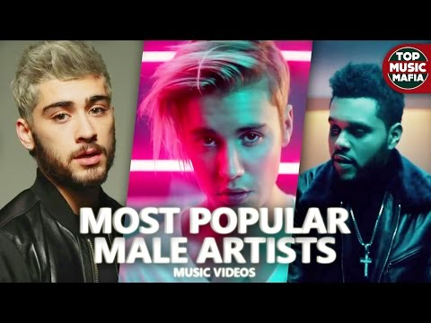 Top 100 Most Viewed Songs  Male Artists April 2017